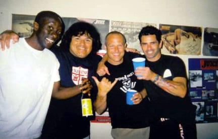Floyd Reid, Rene Carrasco, Dave Hegstrom and Jay Smith. Photo: Dan Levy