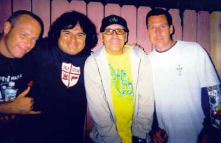 Dave Hegstrom, Rene Carrasco, Ray Flores, Pat Baries, Photo: Carrasco