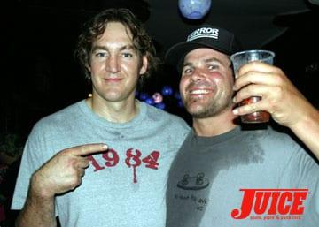 Ben Schroeder and Matt Ballard. Photo: Dan Levy