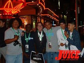 Heidi Lemmon Heidi Lemmon and the East LA Crew Photo: Dan Levy