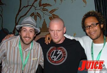 J. Lee, Mike V, Chris P. Photo: Dan Levy