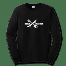 Juice Build and Destroy Black Long Sleeve TShirt