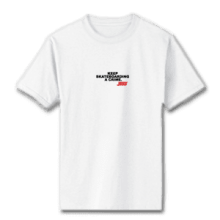 Juice Keep Skateboarding A Crime Mini Logo White Short Sleeve Tshirt