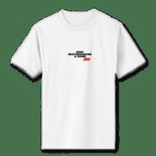 Juice Keep Skateboarding A Crime Mini Logo White Short Sleeve Tshirt