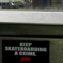 Juice Keep Skateboarding A Crime Sticker Pack