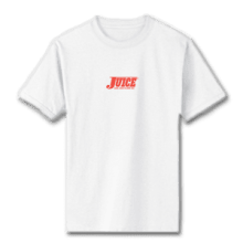 Juice Pools Pipes and Punk Rock Mini Logo White Short Sleeve Tshirt