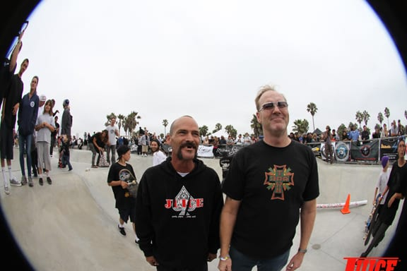 Tim Jackson and Jim Muir. PHOTO: DAN LEVY