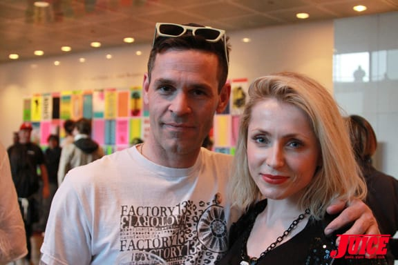 Daniel Creadon and Emma Photo © Dan Levy