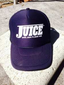 Juice Blue Lightning Hat
