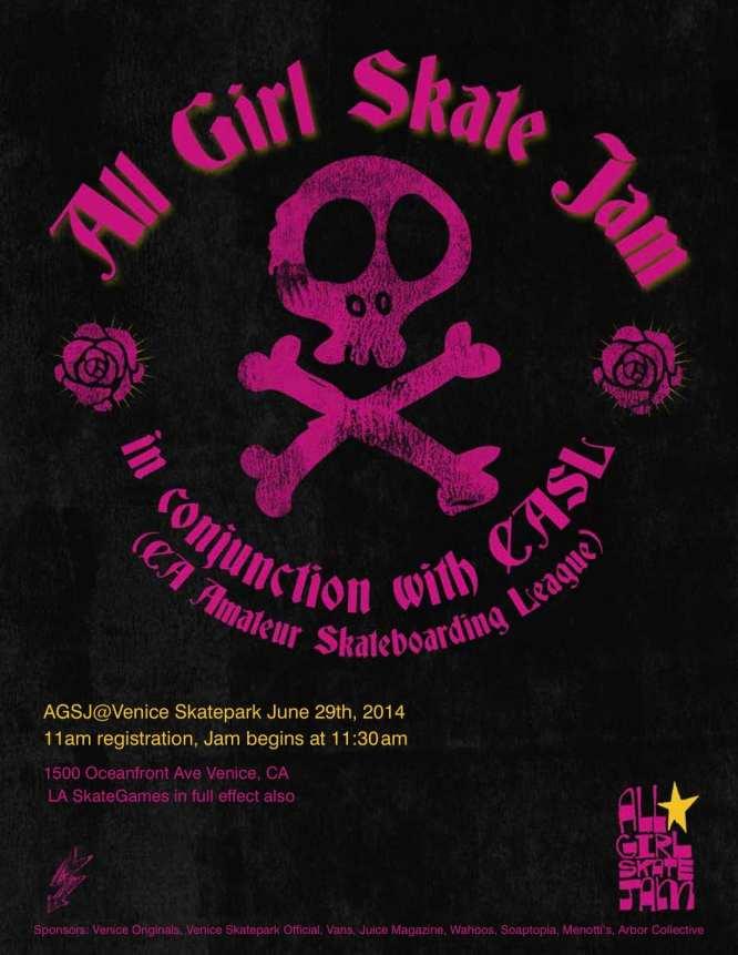 CASL Presents LA Sk8 Games