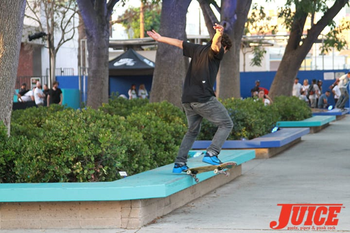 PAUL RODRIGUEZ. WEST L.A. COURTHOUSE. PHOTO BY DAN LEVY
