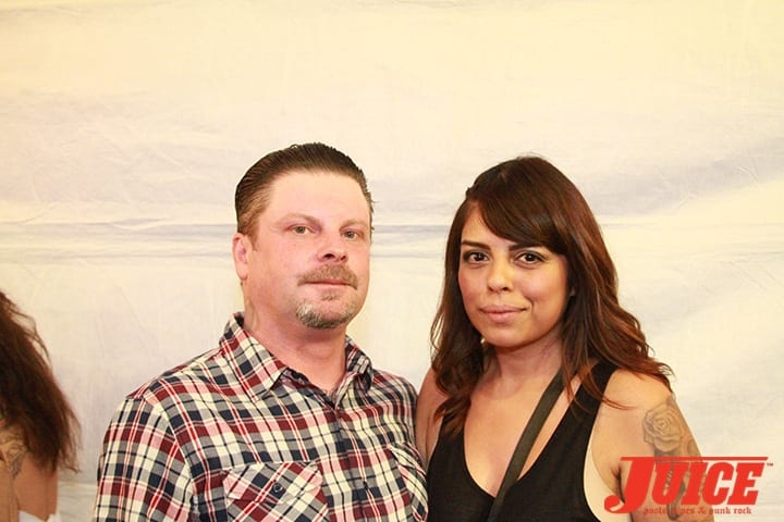 Eric Dressen and Mandy Alvarado. Daggers Rule! 2014. Photo by Dan Levy