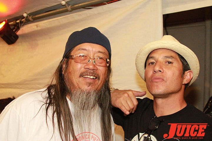 Jeff Ho and Christian Hosoi. Daggers Rule! 2014. Photo by Dan Levy