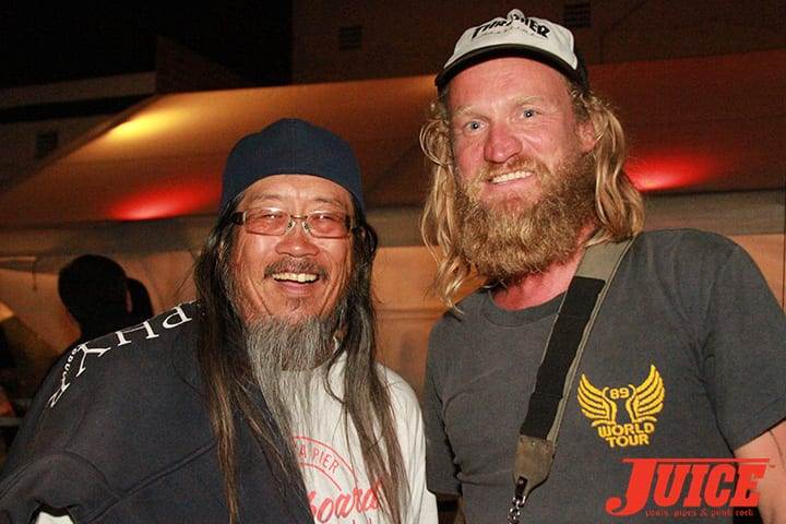 Jeff Ho and Andy Wauman. Daggers Rule! 2014. Photo by Dan Levy