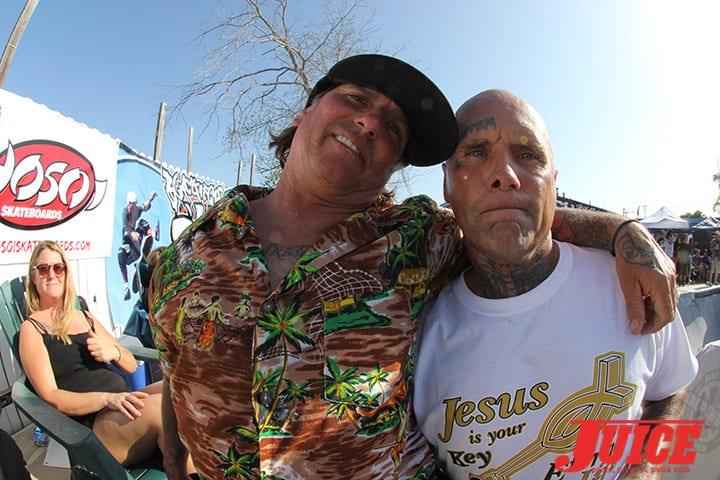 Tracy Little and Jay Adams. Basic Bowl 2014. Photo: Dan Levy