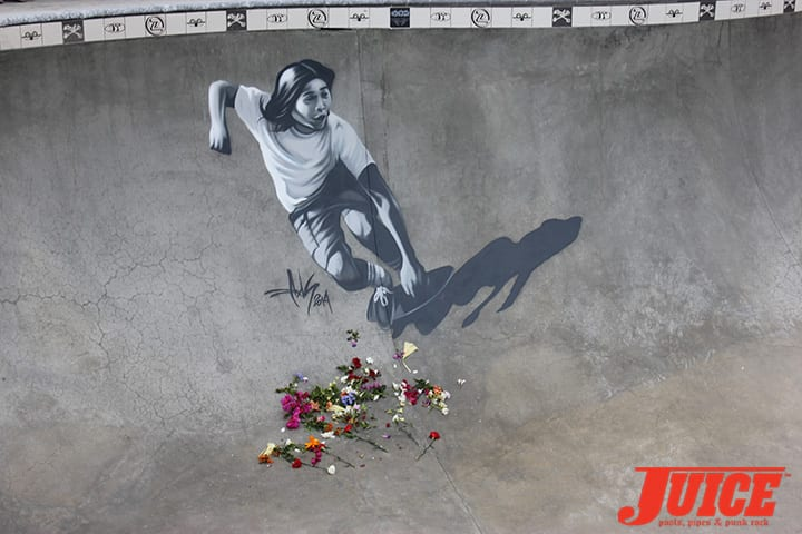 SHOGO KUBO MEMORIAL ART BY AXIS. PHOTO BY VANS DAVEY