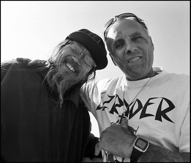 Jeff Ho and Jay Adams. Feb 2011. Photo by Glen E. Friedman