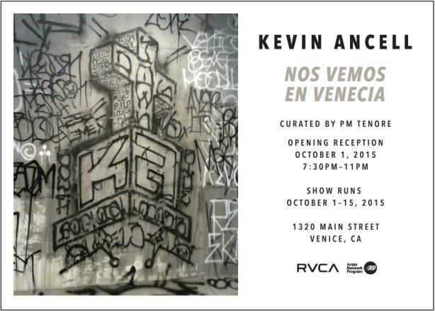 Kevin Ancell Nos Vemos En Venecia