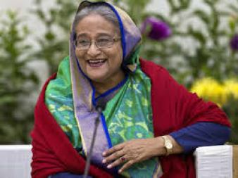 Sheikh Hasina to be sworn in as Bangladesh PM - Times of India