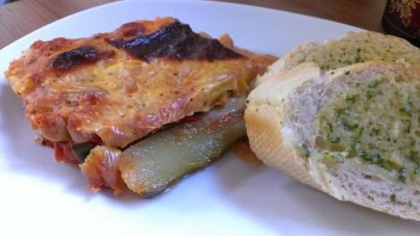 courgette gratin bake