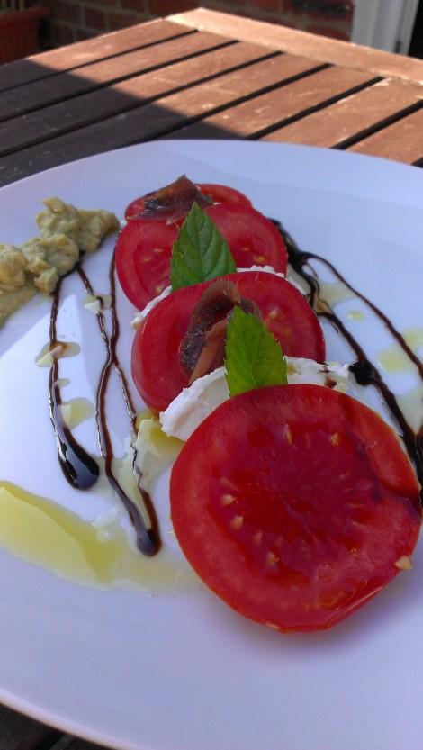 tri-colore salad