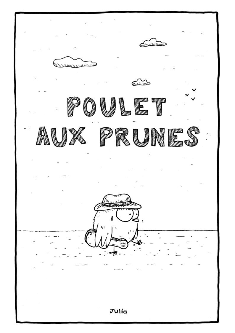 Julia Couverture PouletAuxPrunes BD