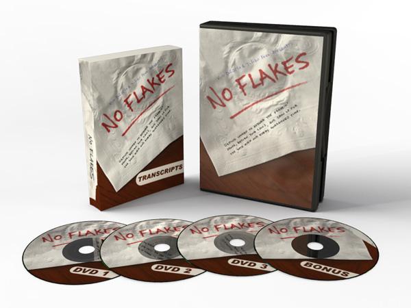 No Flakes DVD