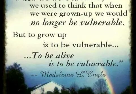 when we were children quote by madeline l'engle