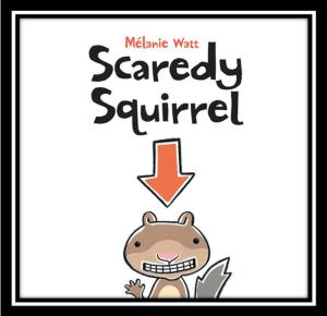 Scaredy Squirrel Cover