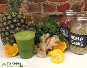 green smoothie bar recipe