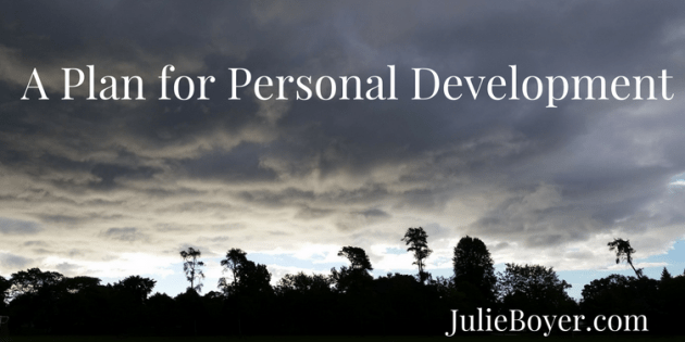plan for personal development