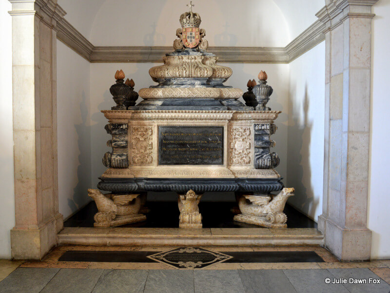 Marble tomb of Dom João IV