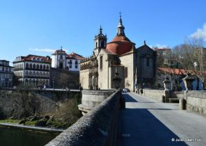 São Gonçalo bridge and church, Amarante, Portugal