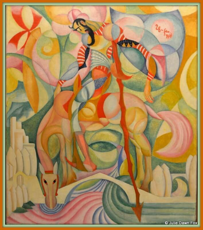 Dom Quixote, oil painting by Amadeo de Sousa-Cardosa