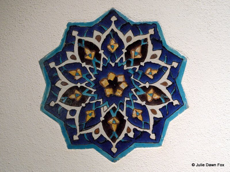 Turkish star tile
