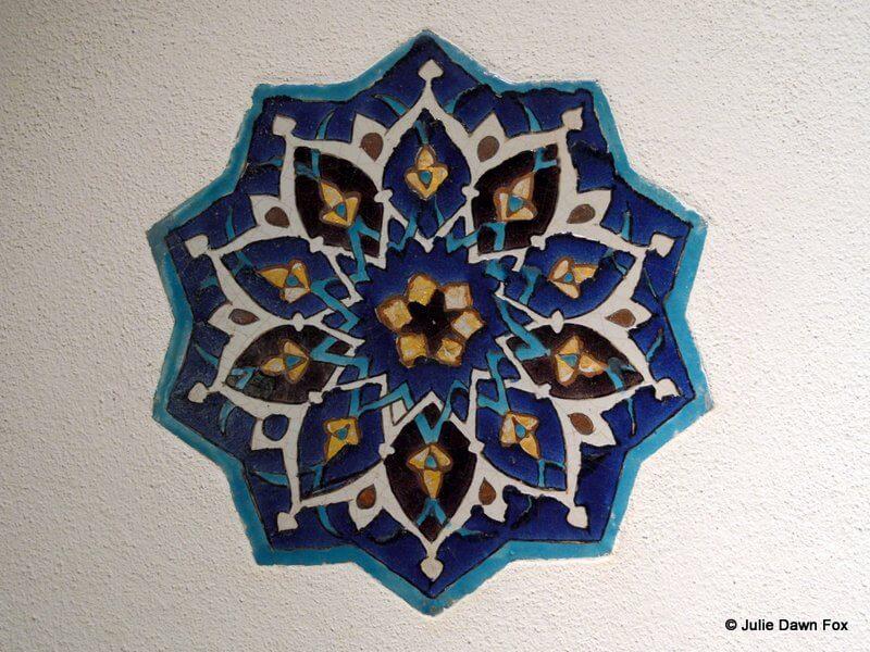 Turkish star tile