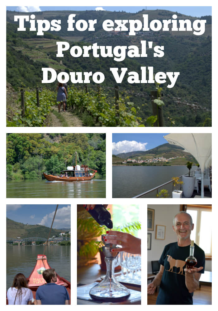 Tips for exploring Portugal's Douro Valley. The best time of year to visit, how to get around, day trips, tours, river cruises and boat trips, wineries and more