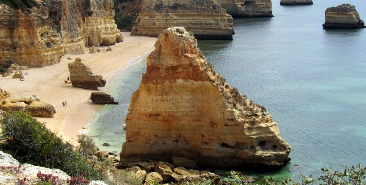 Beach holiday in Portugal