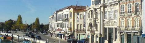 Aveiro canals and Art Nouveau