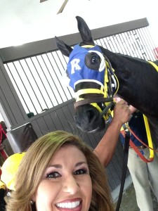 Dream Come True Selfie before her race!