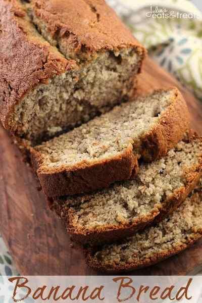 Banana Bread + VIDEO - Julie's Eats & Treats