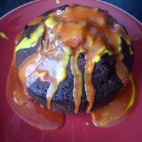 Volcano Cake by Jen