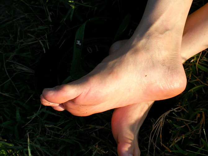 English: picture of foot