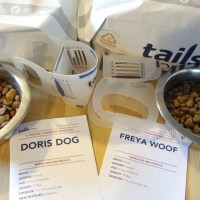 Doris and Freya try Tails food