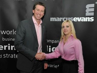 Interviewing Glenn McGrath, Gold Coast, Australia