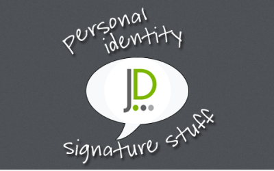 Signature stuff for great personal brand
