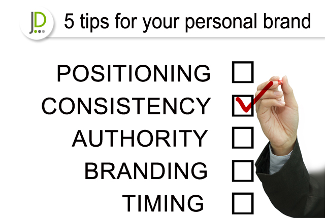 5 tips for personal brand