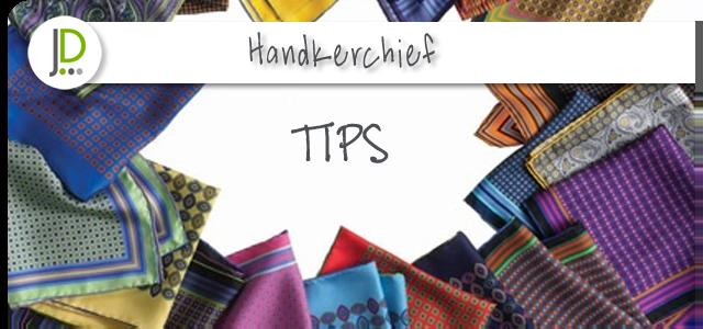 Handkerchief – a stylish detail
