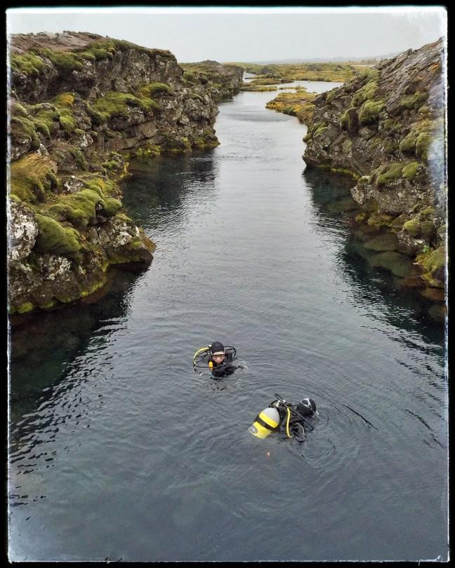 Silfra dive site, Þingvellir National Park