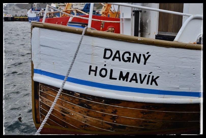 Wooden fishing boat, Isafjördur